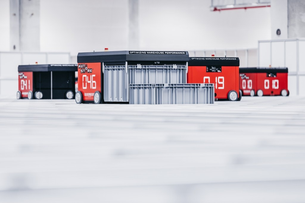 TTI`s AutoStore system currently has 50 robots in use