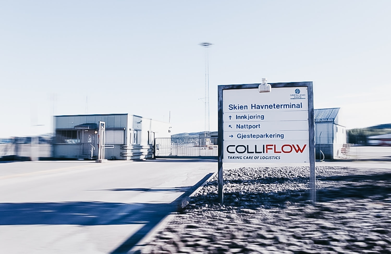 ColliFlow entrance