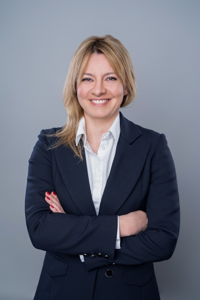 Managing director for Poland, Anna Wisniewska portrait